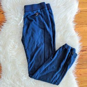 Pink Victoria's Secret Blue Sweatpants